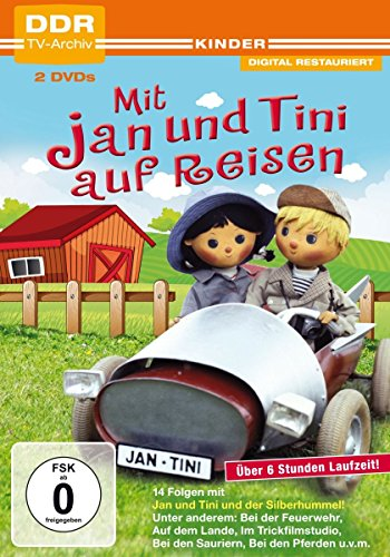 Mit Jan und Tini auf Reisen (DDR TV-Archiv) [2 DVDs]