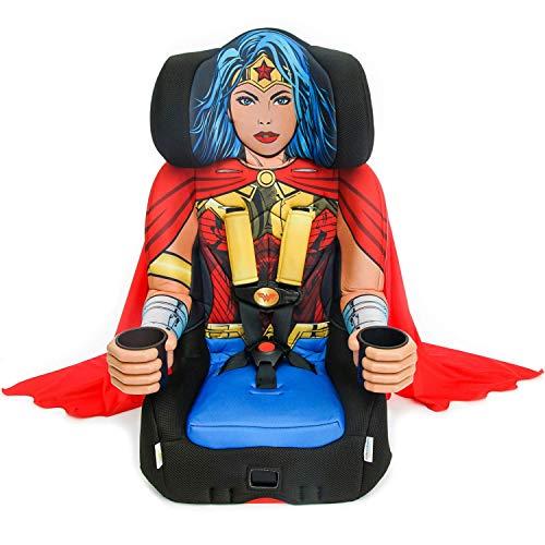 KidsEmbrace 2-in-1 Harness Booster Car Seat, DC Comics Wonder Woman