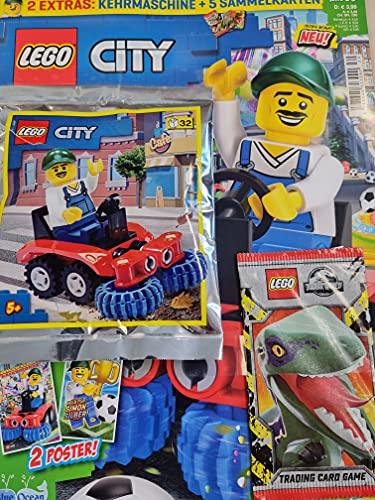 """LEGO Magazin 30/2021 \""""Straßenreiniger+Kehrmaschine\"""""""