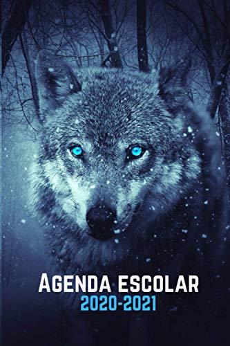 agenda escolar 2020-2021 lobo: Agenda animales| primaria...