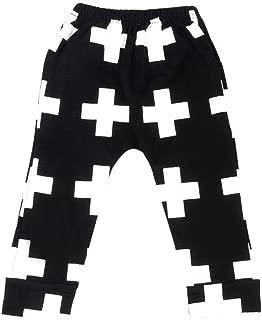 Pollyhb Summer Kids Boy Baggy Harem Pants Trousers Joggers Elastic Bottoms