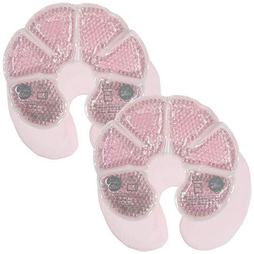 アンジュスマイル 母乳パッド ホット クール 両用 乳腺炎の軽減に 繰り返し使える温冷 ジェル