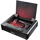 Intact XD-900 Quick Access Biometric Fingerprint Gun Safe with Nex-Gen Keypad Module Top Opening