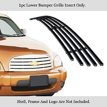 APS Compatible with 06-10 Chevy HHR Lower Bumper Black Billet Grille Insert C85213H