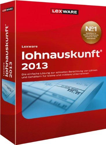 Lexware Lohnauskunft Netz Juli 2013 Zusatzupdate (Version 21.50)