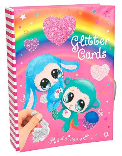 Depesche 8579 - Kreativset Glitter Cards Ylvi und die Minimoomis