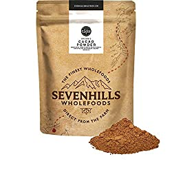 Powder from finely ground premium organic cacao beans High in Fibre, a source of Protein and other vitamins A versatile food that can be added to many foods, used as a baking ingredient, or made into a drink 100% pure with nothing added, allergen fre...