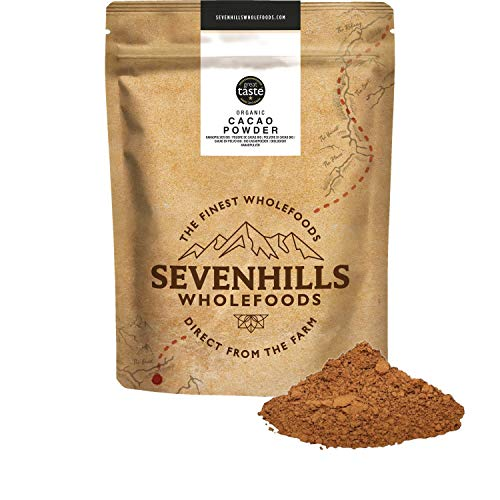 Sevenhills Wholefoods Organic Cacao/Cocoa Powder 500g
