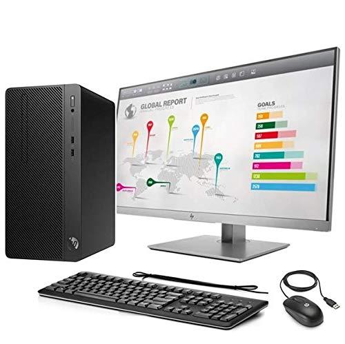 Monitor PC completo HP, Tower 280 G3 cpu Intel i7 di 7° GEN. 4 core, Ram 8 GB, HDD 1 TB, Win10 Pro, Antivirus, Elite E273Q Monitor 27  IPS 2560 x 1440 Pixel, Tastiera e Mouse, Gar.Italia