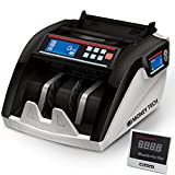 Money Tech Polymer & Paper Multi-Currency Bill Cash Counter. Canadian Plastic & USD