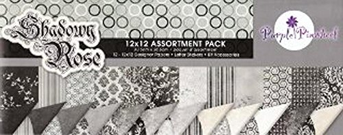 Shadowy Rose Assortment Pack Page Kit by GCD Studios