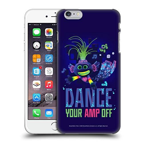 Head Case Designs Licenza Ufficiale Trolls World Tour Pop Techno Assortiti Cover Dura per Parte Posteriore Compatibile con Apple iPhone 6 Plus/iPhone 6s Plus