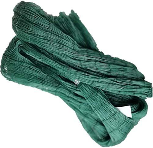 TangMengYun Fischernetz Mehrzweck-PE-Anlage Trellis Net Garten Netting Geflügelzucht Netting Fechten Mesh Anti Bird Zaun Angelnetz Nylon (Color : 2M x 10M, Größe : 6 Strands)