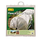 "Gardman 7680 Fleece Grow Tunnel, 10' Long x 18"" High"