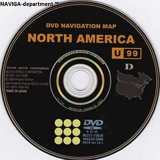 Toyota 2018 Navigation Map Update DVD Gen 6 17.1 U99 86271-GEN06-17