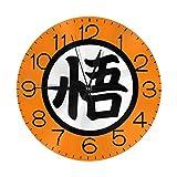 ドラゴンボール 壁掛け時計 おしゃれ デジタル ミュート 円形 掛け時計 置き時計 目覚まし時計 インテリア 装飾