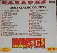 Monster Hits Karaoke Vol 1008 - Male Classic Country by Ray Price, Roger Miller, Hank Williams, Faron Young, Johnny Cash, Marty Robbins, (0100-01-01?