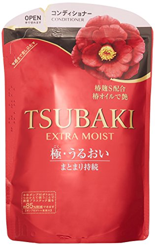Shiseido Tsubaki Extra-Moist Conditioner Refill 345Ml