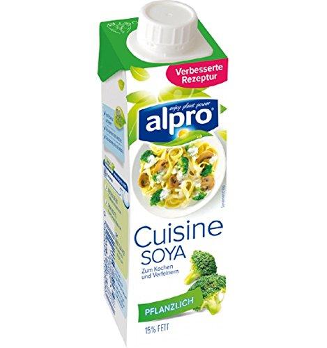 AlPro Soya Cuisine, 15er Pack (15 x 250 ml)