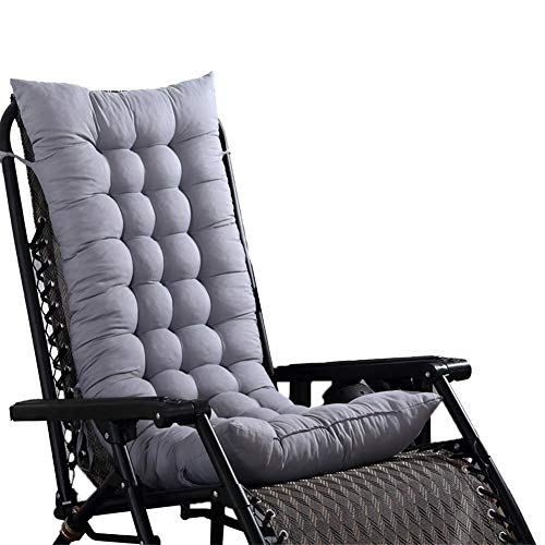 Cojín para silla Cojín de algodón de color sólido Oficina de playa Plegable Almuerzo Pausa Silla...