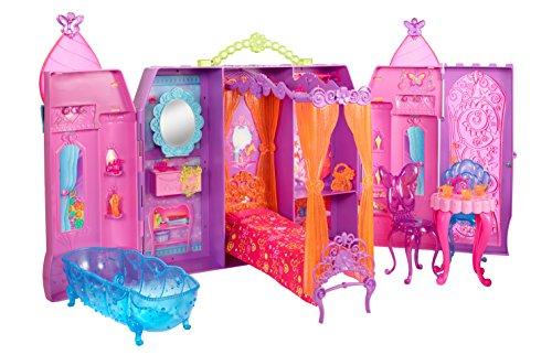 Barbie - Castillo portátil La Puerta Secreta (Mattel BLP41)