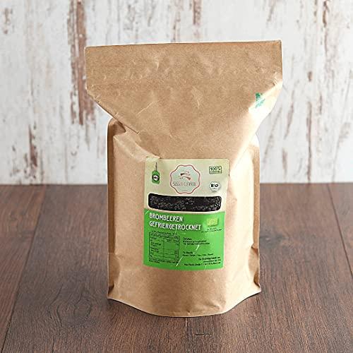 süssundclever.de® Bio Brombeeren | gefriergetrocknet | 300 g | ganze Beeren | plastikfrei und ökologisch-nachhaltig abgepackt