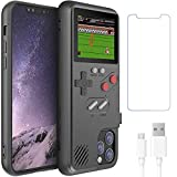 Gameboy Case for iPhone 11 Pro Max,Handheld Retro 36 Classic Games,Color Video Display Game Case for iPhone,Anti-Scratch Shockproof Phone Cover for iPhone WeLohas