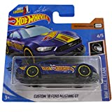 Hot Wheels Custom '18 Ford Mustang GT HW Race Team 4/5 2020 (222/250) Short Card