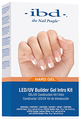IBD LED/UV Gels Builder Gel Kit
