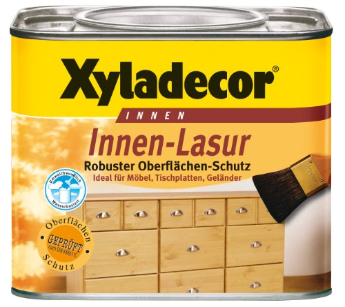 Xyladecor InnenLasur weiß 0,5 Liter