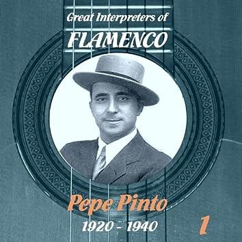 Great Interpreters of Flamenco - Pepe Pinto Vol. 1, 1920 - 1940