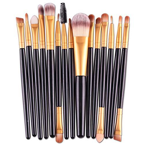 HOUXIAONI Kit De Pinceaux De Maquillage Start The Day Beautifully Kit pour Fard à Paupières Foundation,6-OneSize