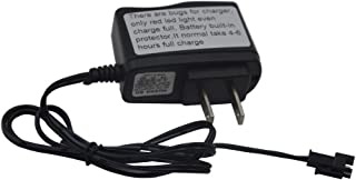 Blomiky 4.8V Charger Power Adapter for Off-Road Rock Through C181 C182 C185 RC Trucks and F1 RC Boat C181 Charger