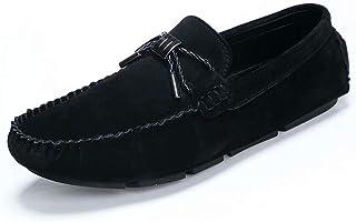 [hitstar] ドライビング フラットシューズ アルスタイル ブーツ 本革 おしゃれ 履きやすい 柔らかい 通気性 軽量