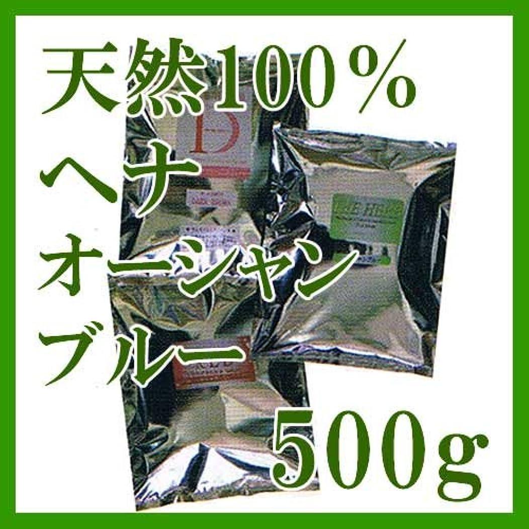 昇進ポジティブ服を片付けるヘナ インターナショナル 天然100%ヘナ オーシャンブルー 500g