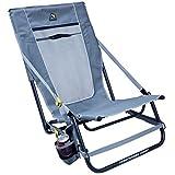 GCI Outdoor Everywhere Portable Hillside Chair, Mercury Gray