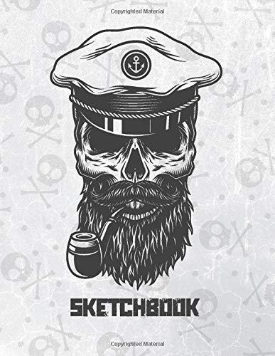 Sketchbook: X-Large Blank Sketching Notebook For Drawing Doodling Or W