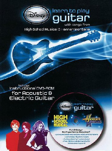 Learn To Play Guitar - Disneys High School Musical [DVD]