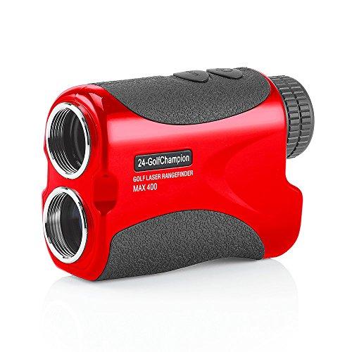 24-Golfchampion Golf-Laser.de - Golflaser, Golf Laser, Entfernungsmesser mit Fahnenerkennung Range Finder Rangefinder Turnier zugelassen -Model 2018