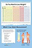 """Do You Need to Lose Weight? Poster - BMI and Waist Measurement 12"""" x 18"""" Laminated Poster"""