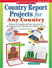 Country Report Projects for Any Country: Ready-to-Go Templates and Easy Instructions for 26 Engaging Projects That Showcase Students  Learning