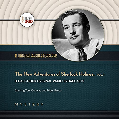 The New Adventures of Sherlock Holmes, Vol. 1 cover art