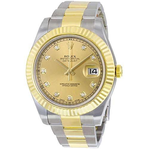 Rolex Datejust II Champagne Dial Automatic Stainless Steel...
