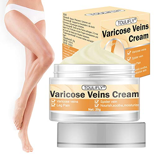 Varicose Veins Cream,Varicose Vein Treatment,Varicose Cream Herbal for Spider Veins Edema Nerve Leg Pain Relief