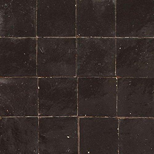 zellige azulejos Negro   Z181   Casa Moro