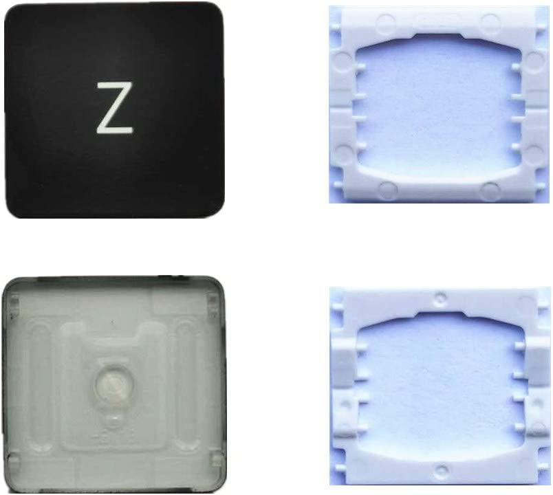 Replacement Individual Z Key Cap and Hinges are Applicable for MacBook Pro A1706 A1707 A1708 Keyboard to Replace The Z Key Cap and Hinge