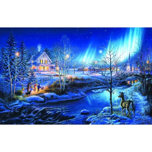 SUNSOUT INC All is Bright 1000 pc Jigsaw Puzzle