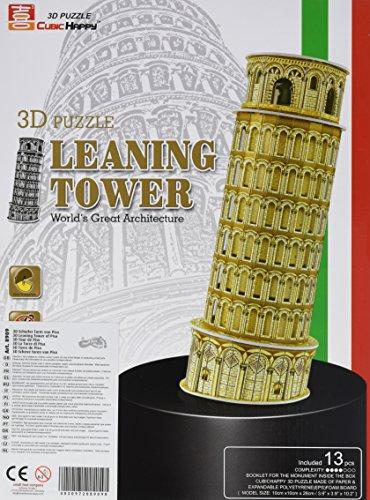 Legler 8909 - 3D Puzzle - Schiefer Turm von Pisa