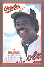 2003 Baltimore Orioles Media Guide Eddie Murphy on Cover