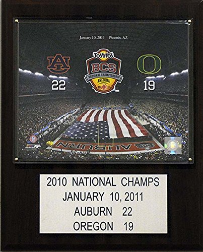 candicollectables 1215atgauburn NCAA Football 30,5x 38,1cm. Auburn Tigers Liste der Spieler-Größen